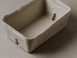 OutNature Silphie Fasern Faserguss Verpackung Schale