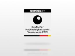 Deutscher Nachhaltigkeitspreis 2021 Nominiert OutNature Silphie Verpackung DNP