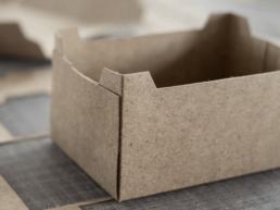 Silphie Papier SilphiePaper SilphieLiner SilphieBoard OutNature Verpackung Faltschachtel Schale