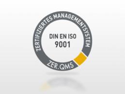 DIN EN ISO 9001 Qualitätsmangement Zertifizierung OutNature