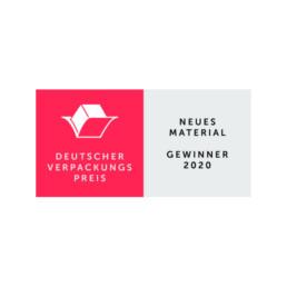 Deutscher Verpackungspreis Neues Material Gewinner 2020 dvi OutNature Silphie Fasern Verpackung